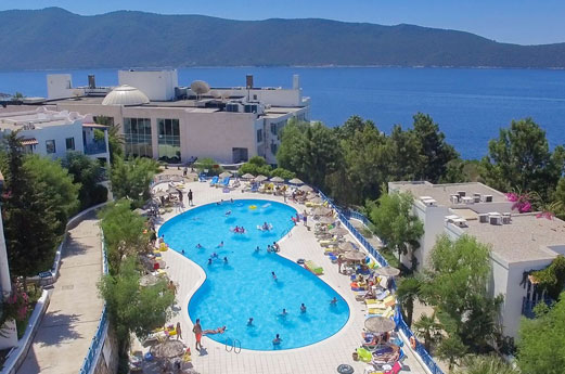 Bodrum Holiday Resort glijbanen