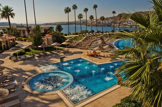 zwembaden Kefaluka resort bodrum