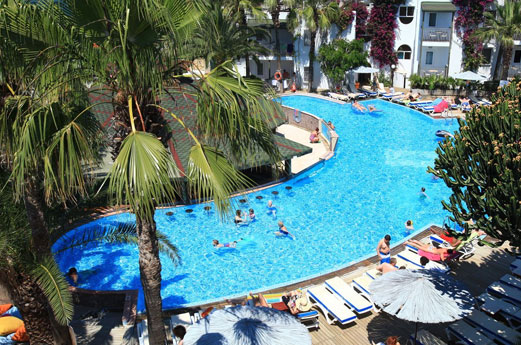 zwembad hotel bodrum