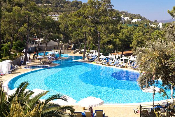 zwembad hotel rixos premium bodrum