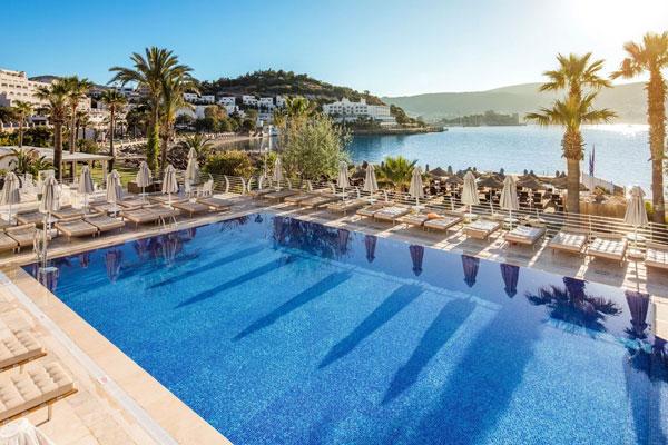 zwembad voyage hotel in bodrum